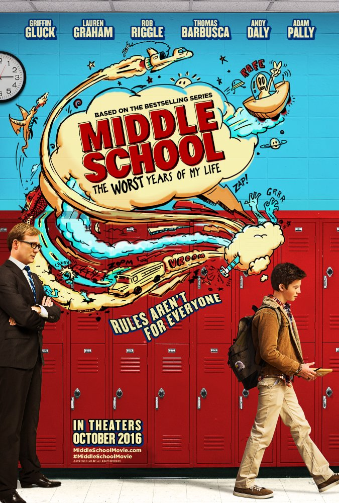 Middle School: The Worst Years of My Life by Steve Carr